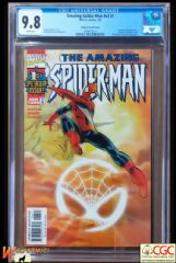 AMAZING SPIDER-MAN   #1 SUNBURST VARIANT (1999 Series) - **CGC 9.8**